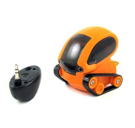 Orange Micro Robotic Tank