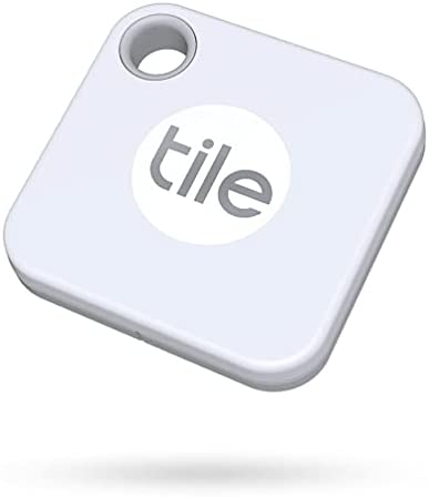 Tile Mate (2020) 1-pack – Bluetooth Tracker, Keys Finder and Item Locator for Keys, Bags and More; Water Resistant with 1 Year Replaceable Battery